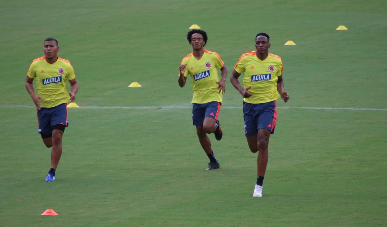 Selección Colombia, entrenamiento, Copa América 2019