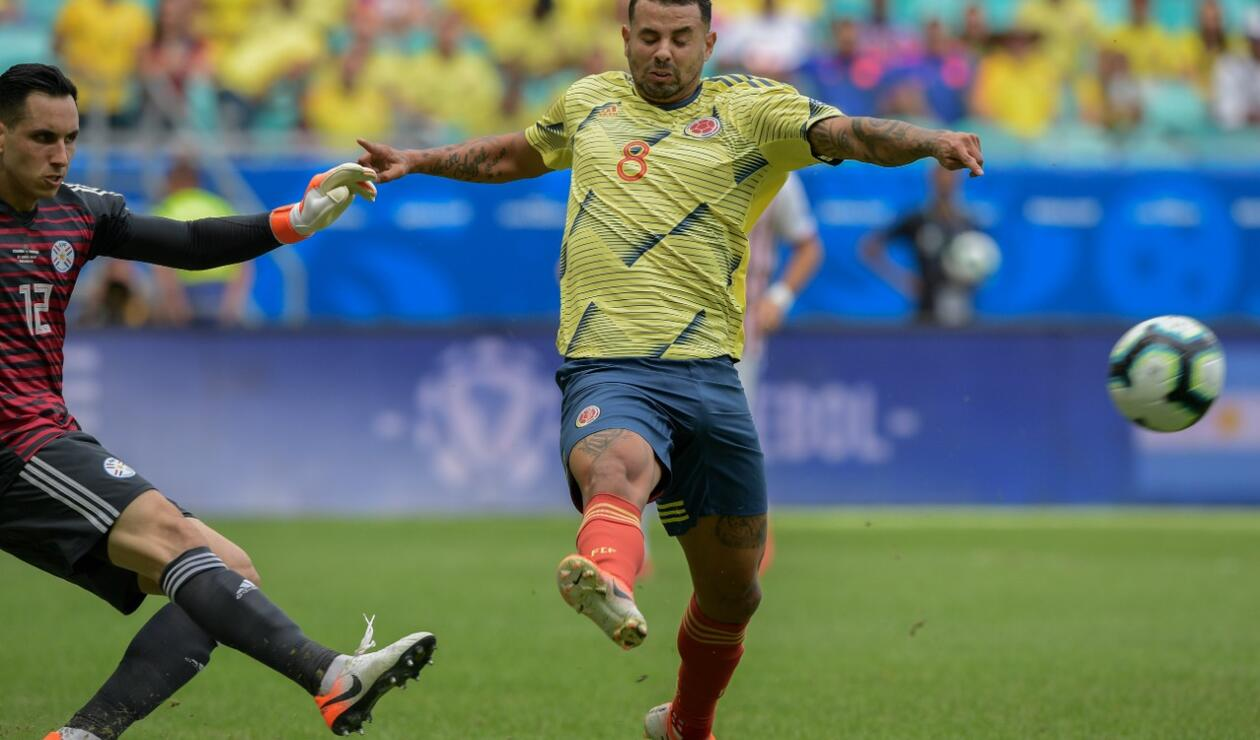 Colombia ante Paraguay