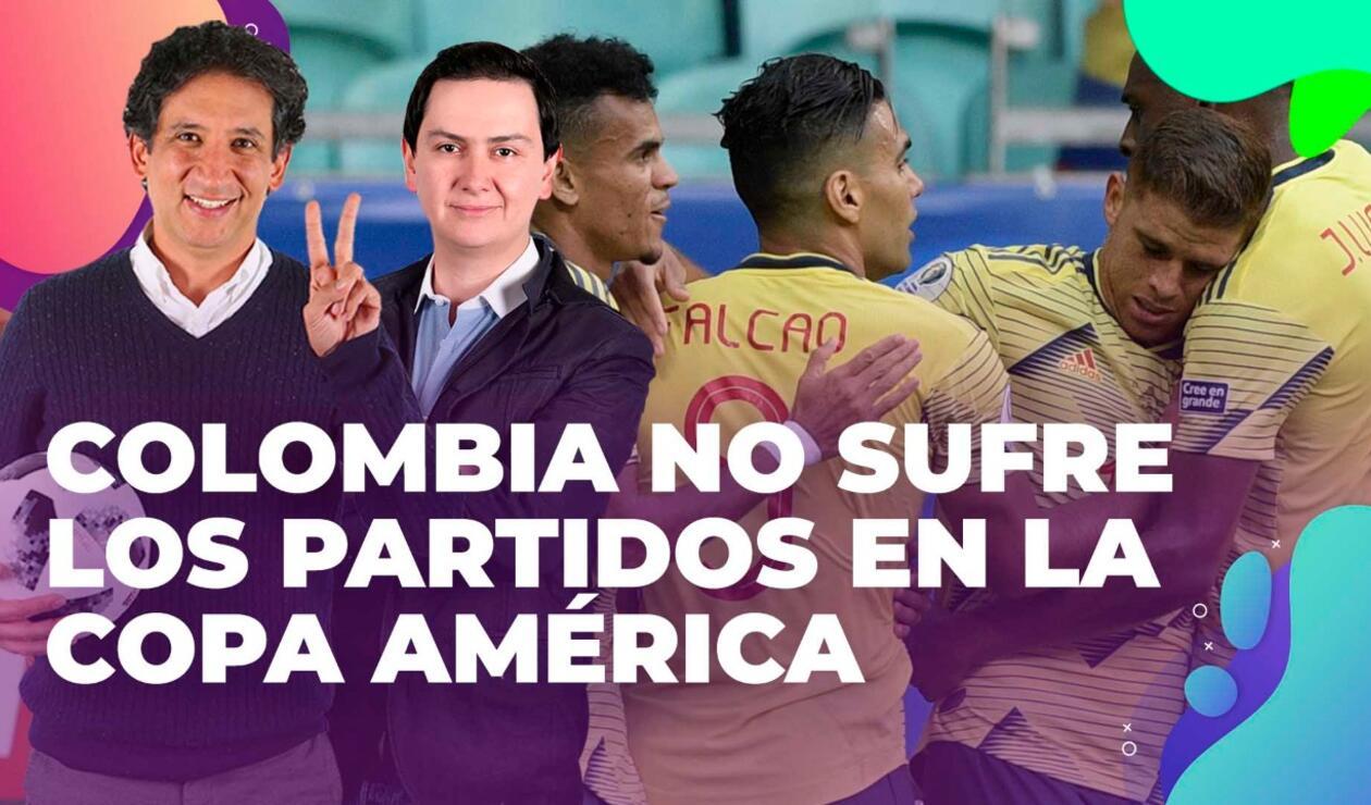 Antonio Casale y Guillermo Arango analizaron la clasificación de la Selección Colombia a cuartos de final