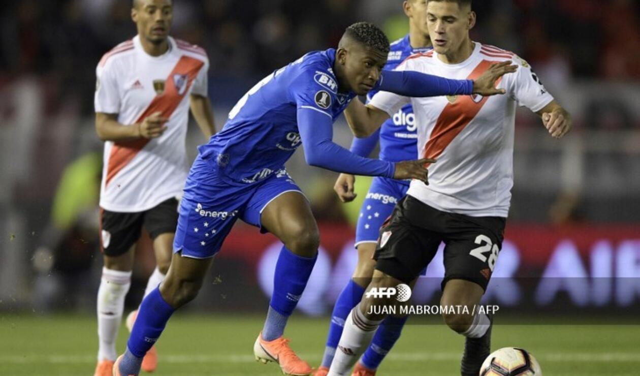River Plate y Cruzeiro empataron sin goles en el Monumental