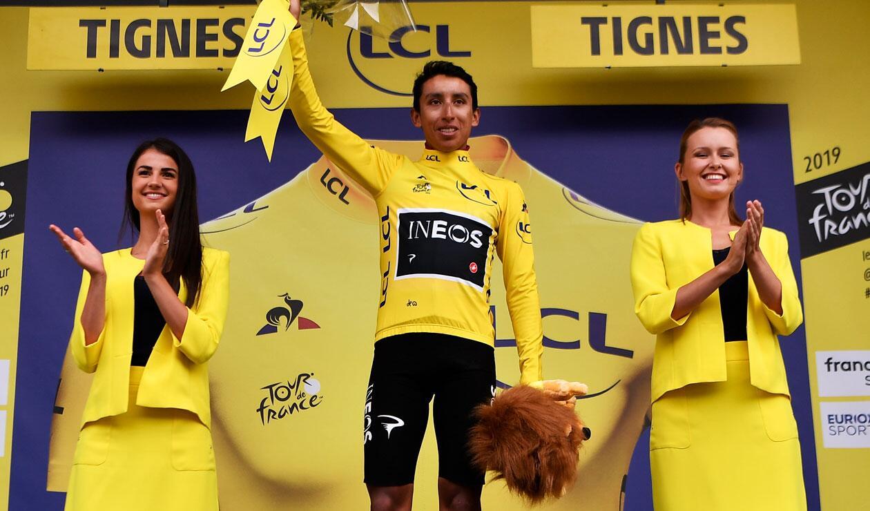 Tour de Francia 2019, Egan Bernal, Camiseta amarilla