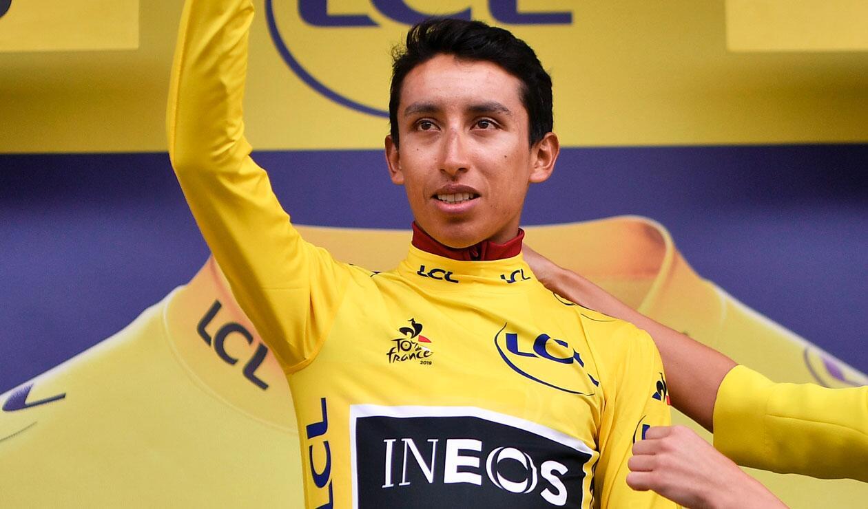 Egan Bernal, Tour de Francia, Camiseta amarilla