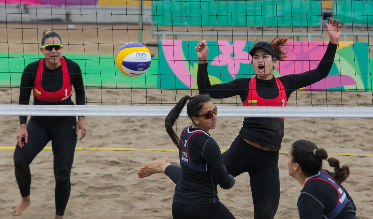 Juegos Panamericanos Lima 2019, voleibol playa