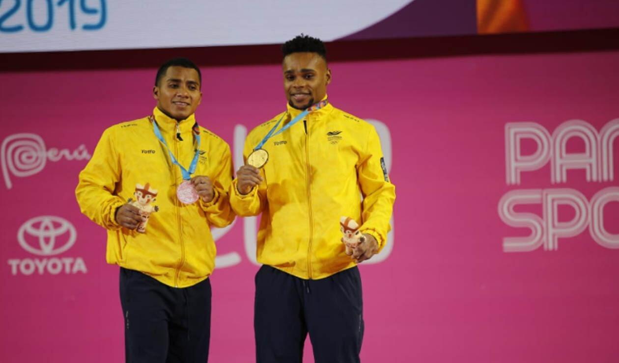 Francisco Mosquera yJhonSerna ganaron oro y plata para Colombia en los Juegos Panamericanos