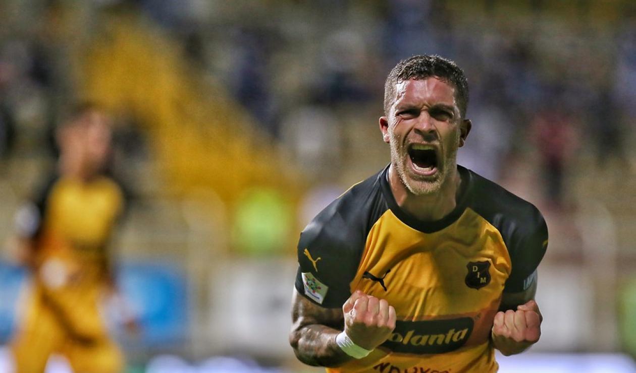 Adrián Arregui, mediocampista de Independiente Medellín