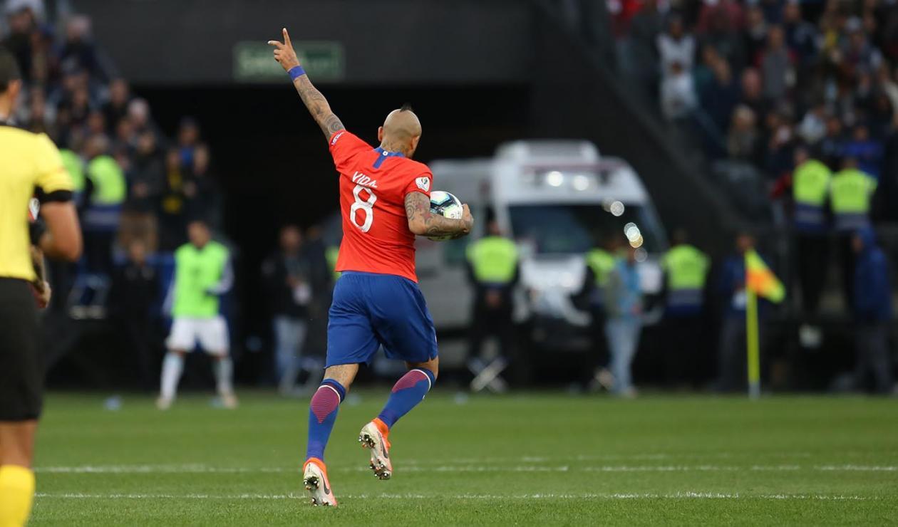 Arturo Vidal, delantero chileno