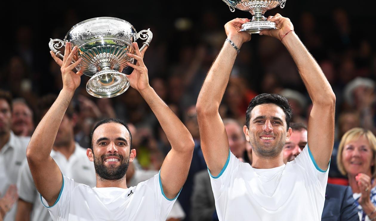 Juan Sebastián Cabal y Robert Farah - Campeones de Wimbledon