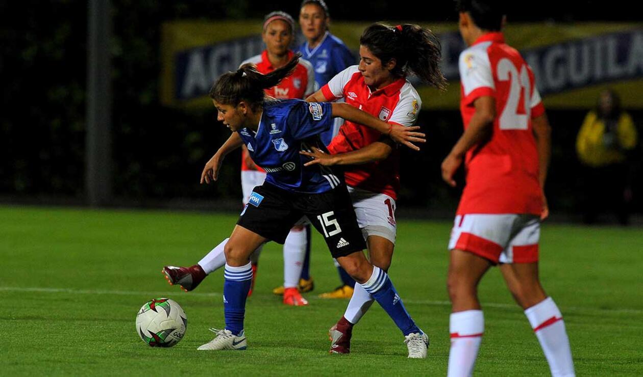 Santa Fe Vs. Millonarios - Liga Águila Femenina