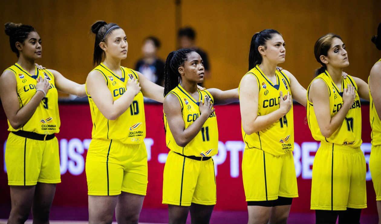 Selección Colombia baloncesto sub - 19