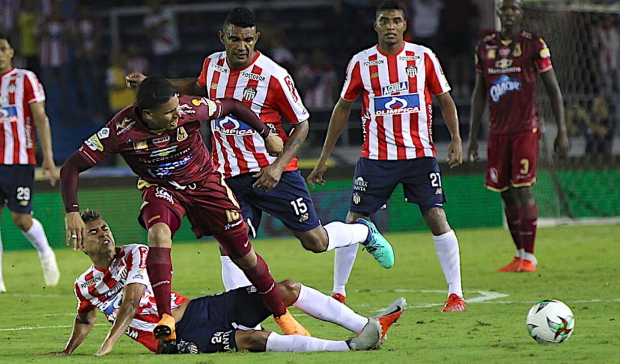 Junior vs Deportes Tolima - Liga Águila
