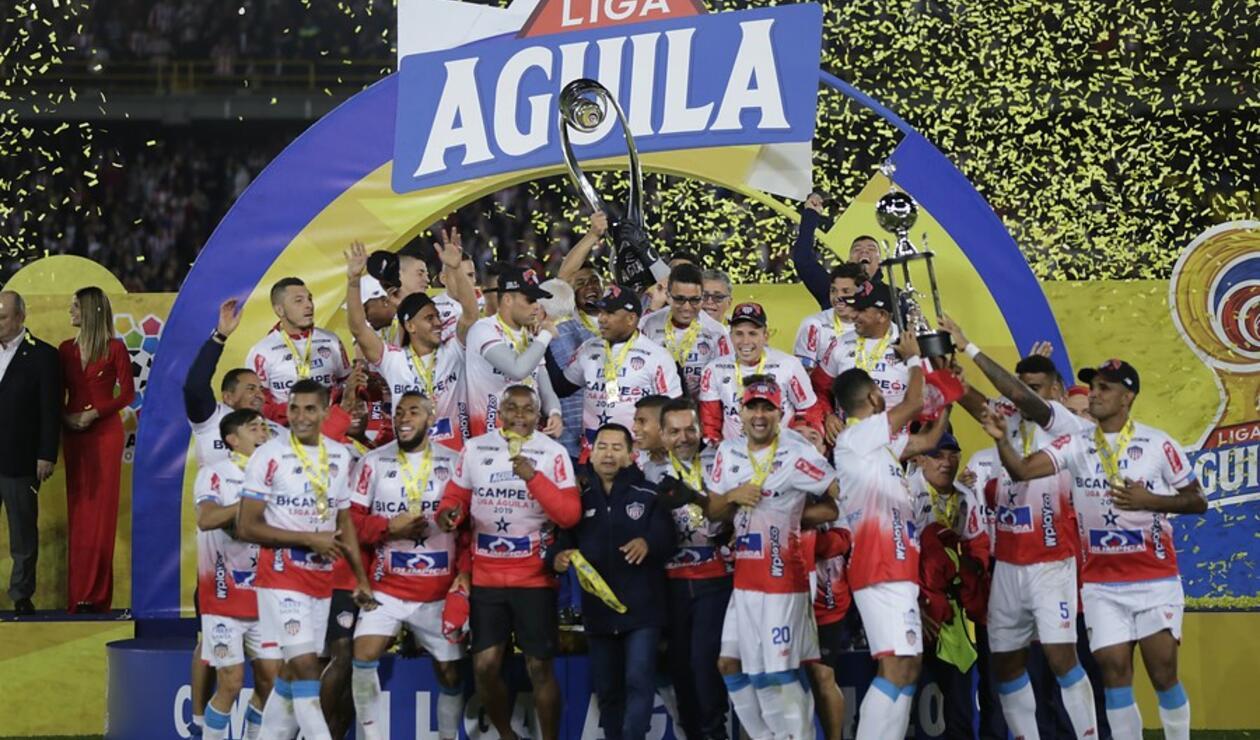 Junior - Campeón de la Liga Águila 2019-I