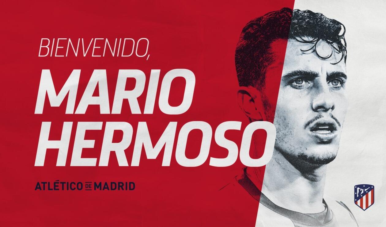 Mario Hermoso, nuevo fichaje del Atlético de Madrid