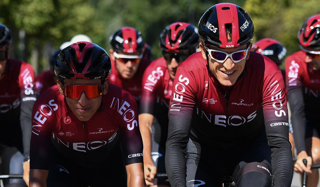 Egan Bernal, Geraint Thomas, Tour de Francia 2019