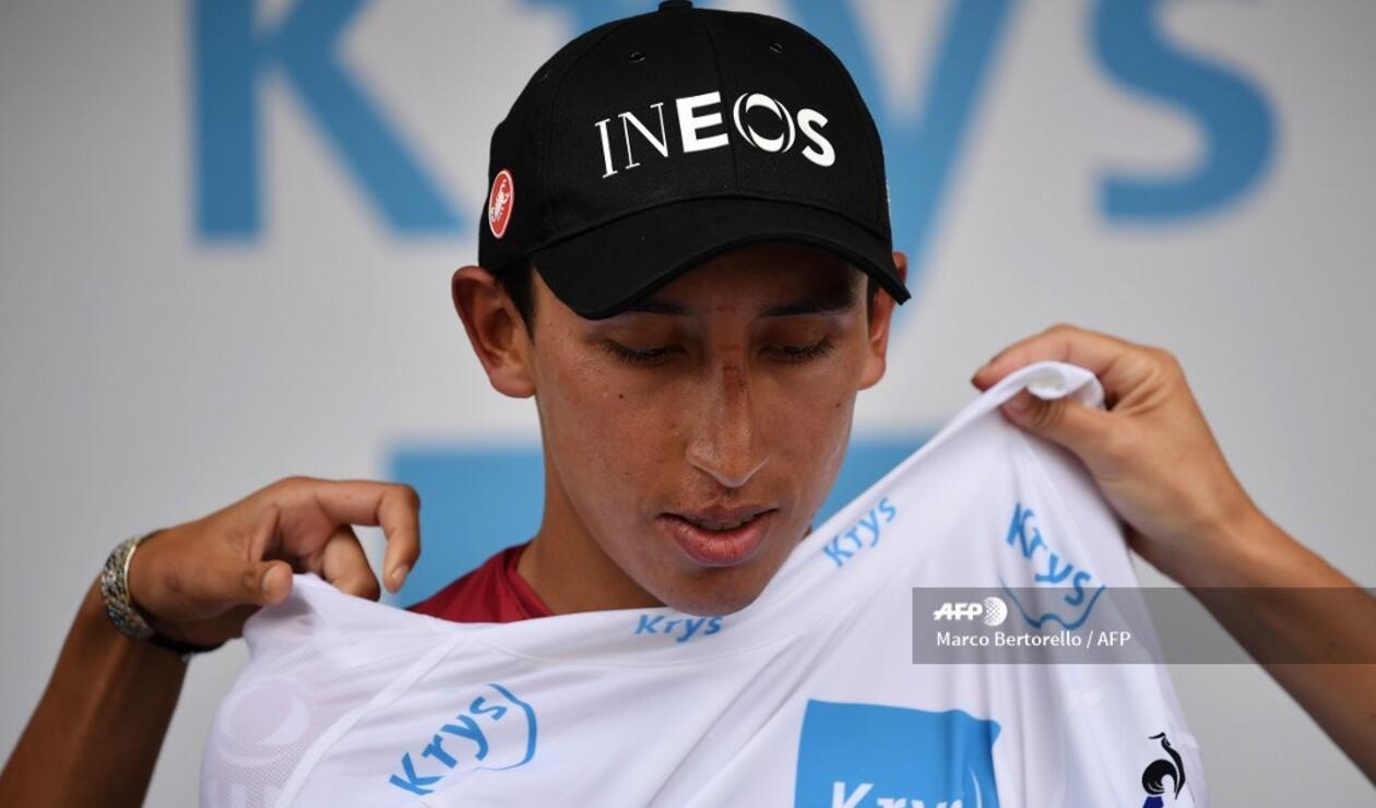 Egan Bernal, mejor joven del Tour de Francia 2019