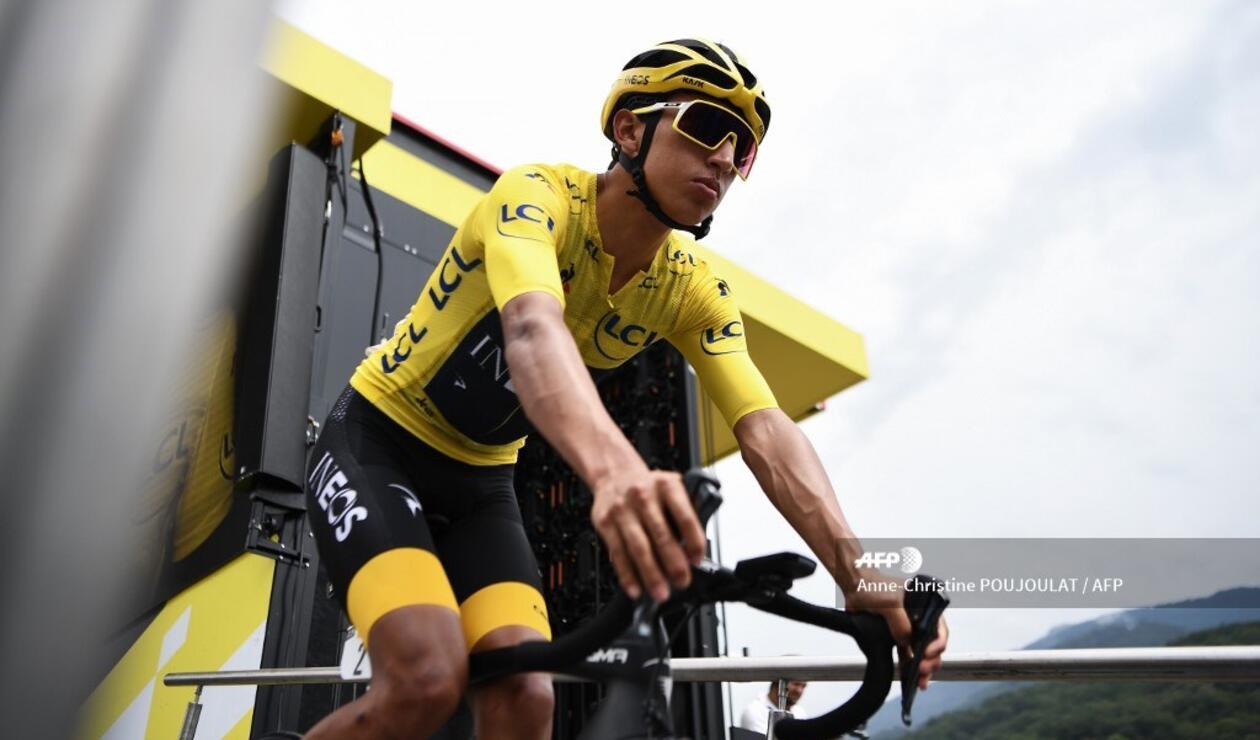 Egan Bernal - Etapa 20 del Tour de Francia
