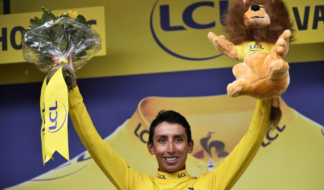 Egan Bernal campeón del Tour de Francia