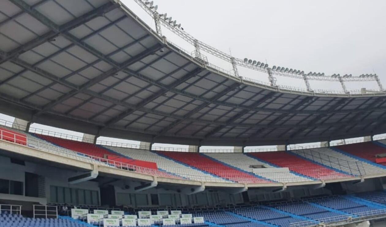Nueva cubierta estadio Metropolitano