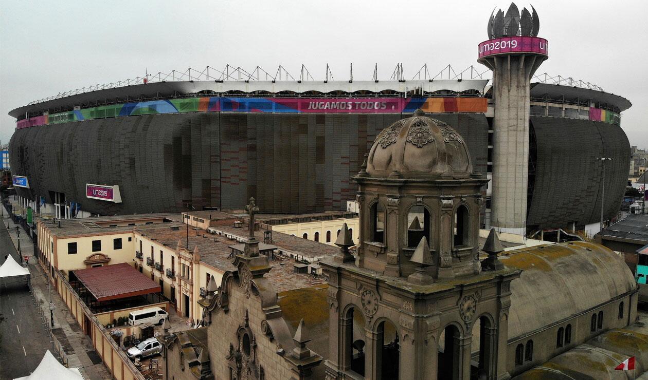 Estadio Nacional de Lima, Juegos Panamericanos Lima 2019