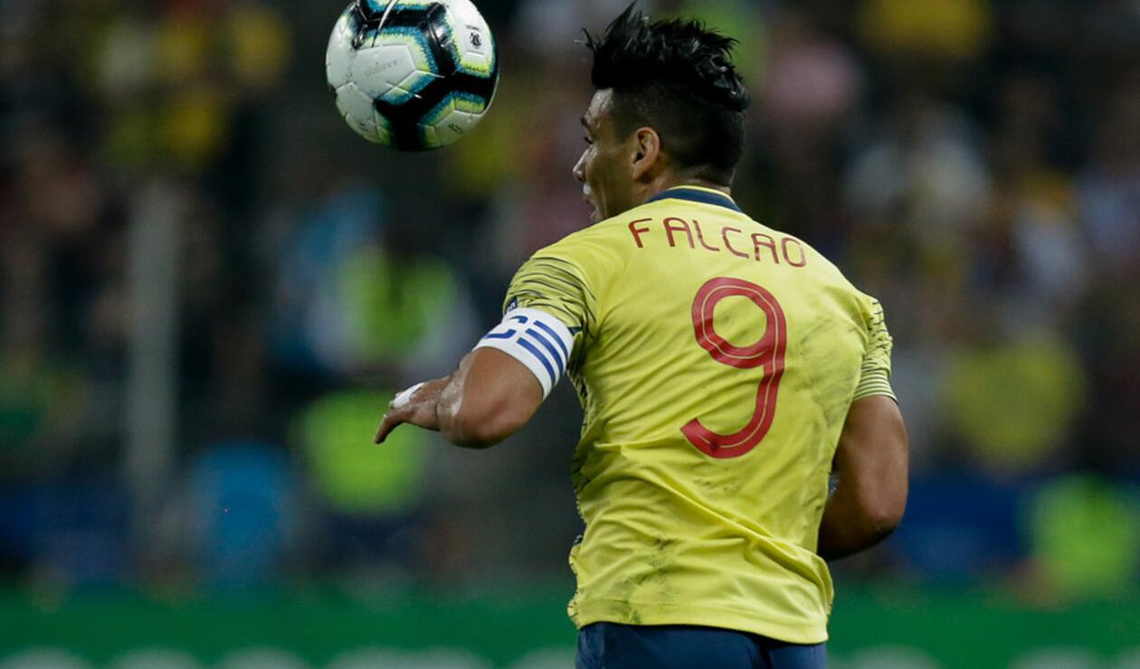 Falcao García en la Copa América