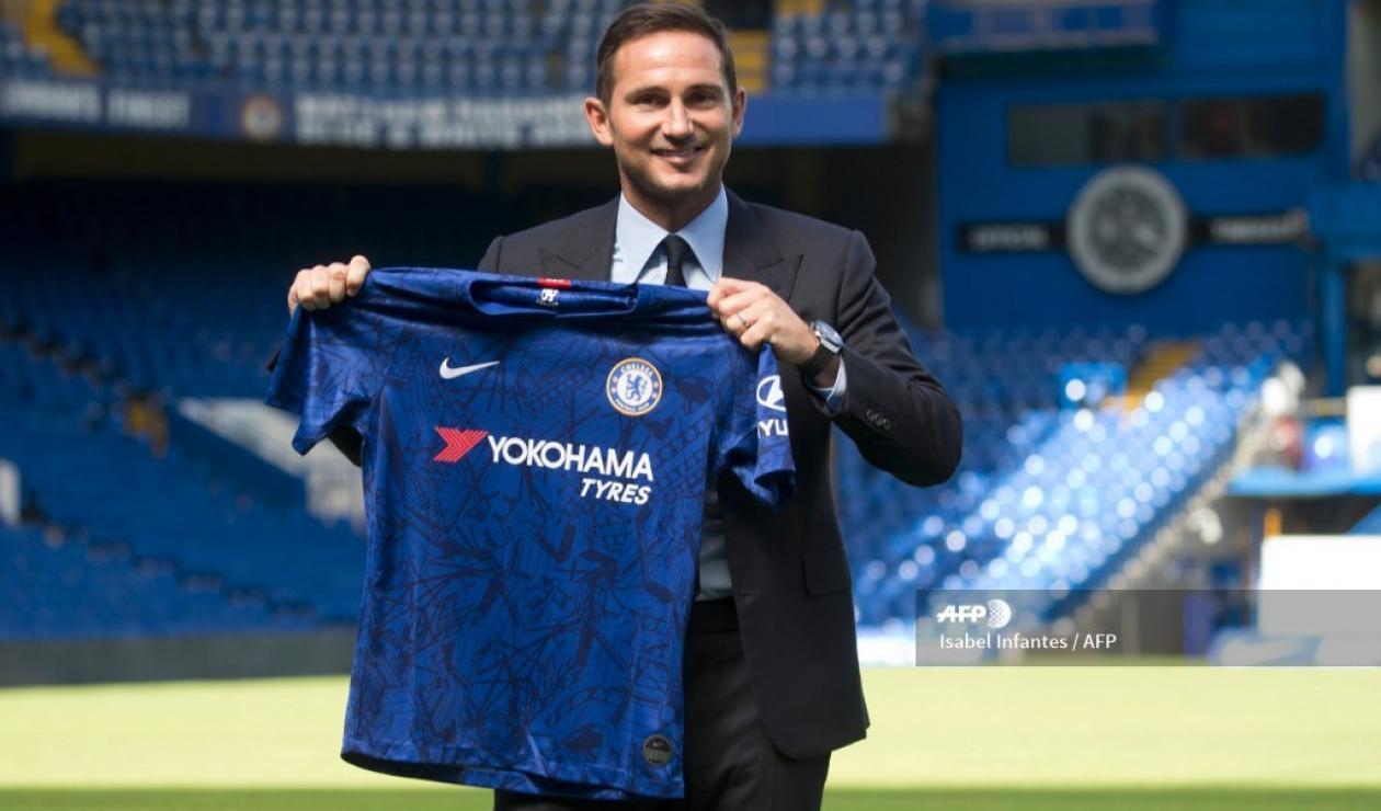 Frank Lampard, nuevo DT de Chelsea