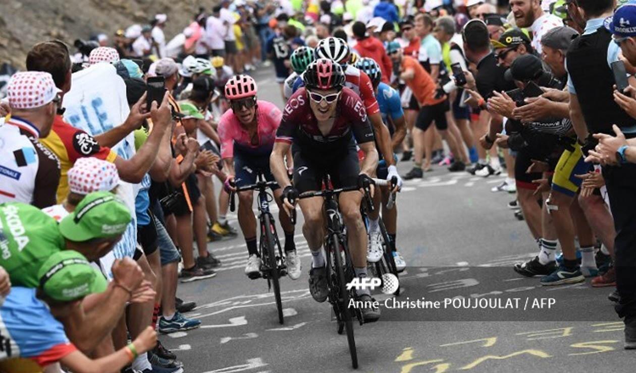 Geraint Thomas, actual campeón del Tour de Francia