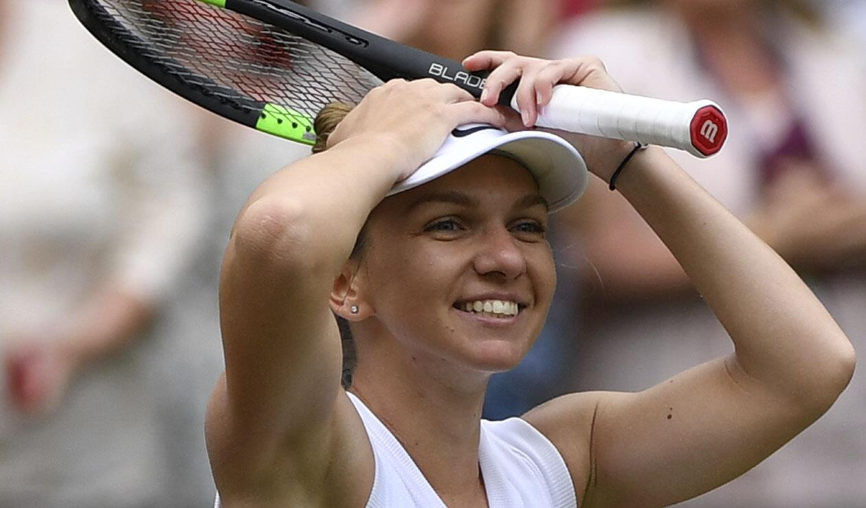 Simona Halep se convirtió en la primera rumana en ganar en Wimbledon
