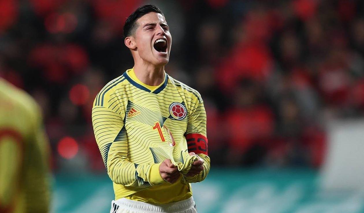 James la principal figura de la Selección Colombia.