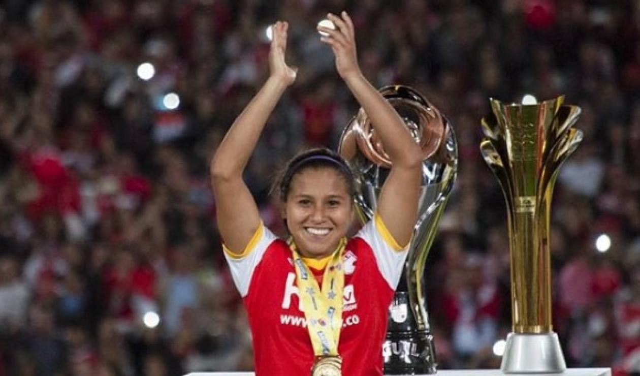 Leicy Santos, futbolista colombiana