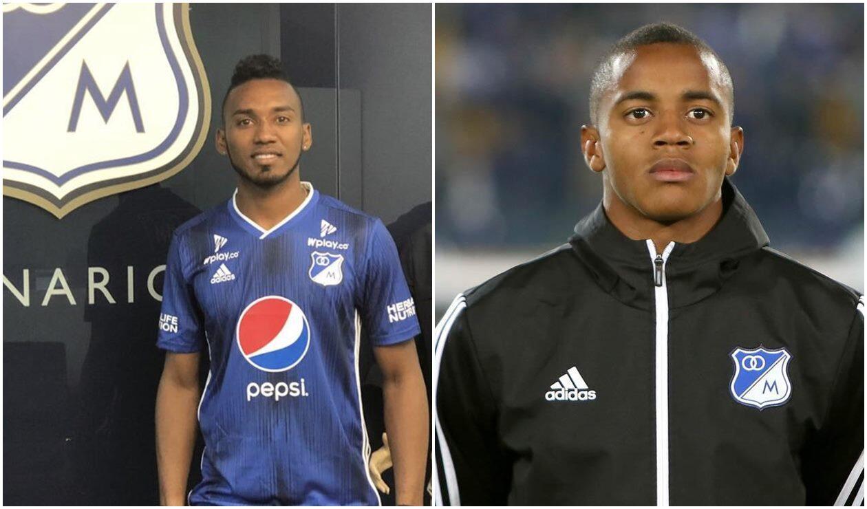 Jefferson Martínez y Wuilker Faríñez - Millonarios