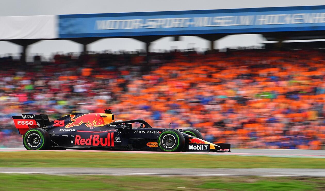 Max Verstappen, piloto holándes al servicio de Red Bull