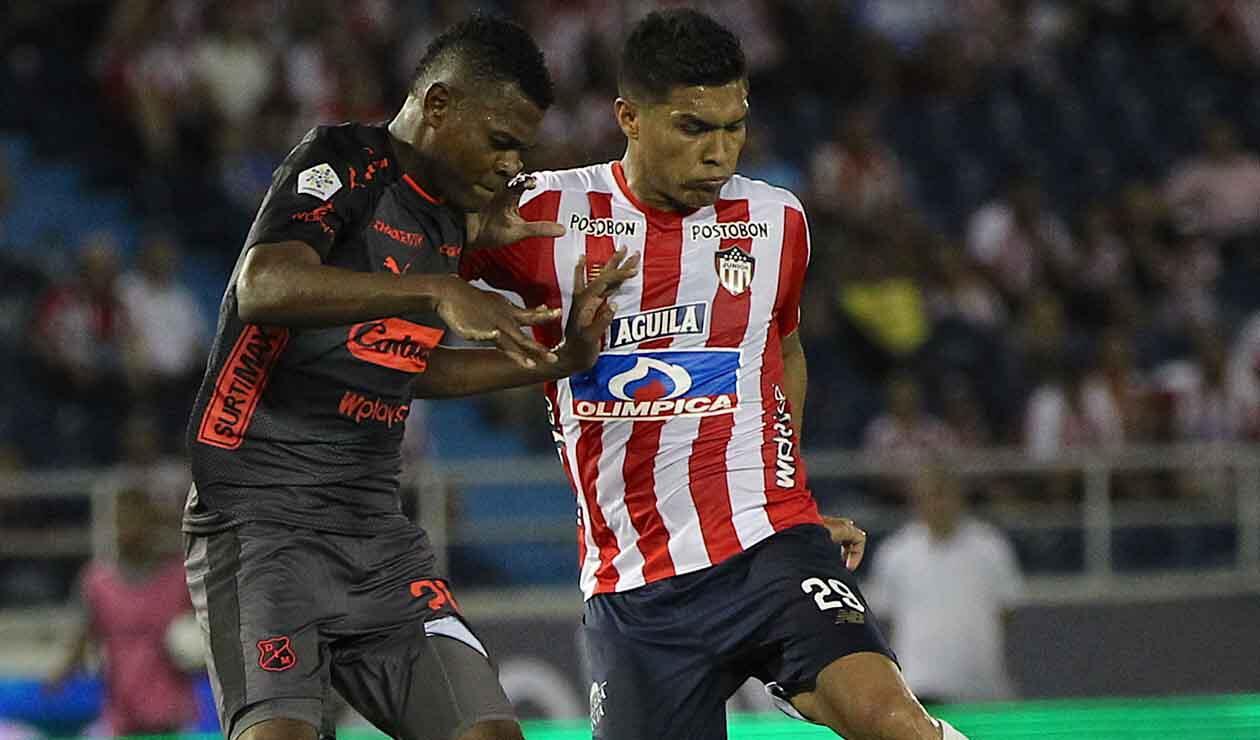 Independiente Medellín Vs Junior de Barranquilla