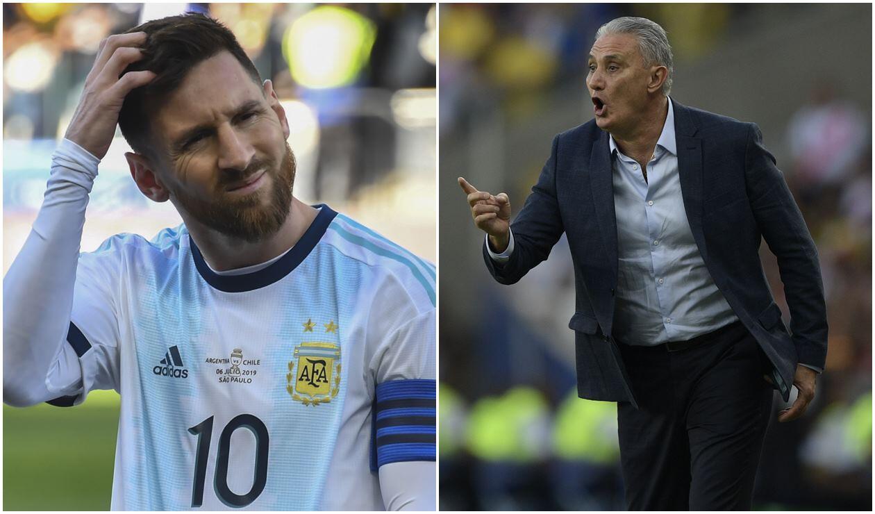 Messi y Tite
