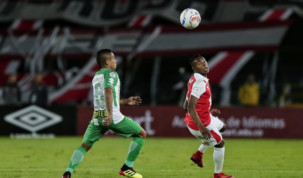 Atlético Nacional y Santa Fe en el Torneo Fox Sports