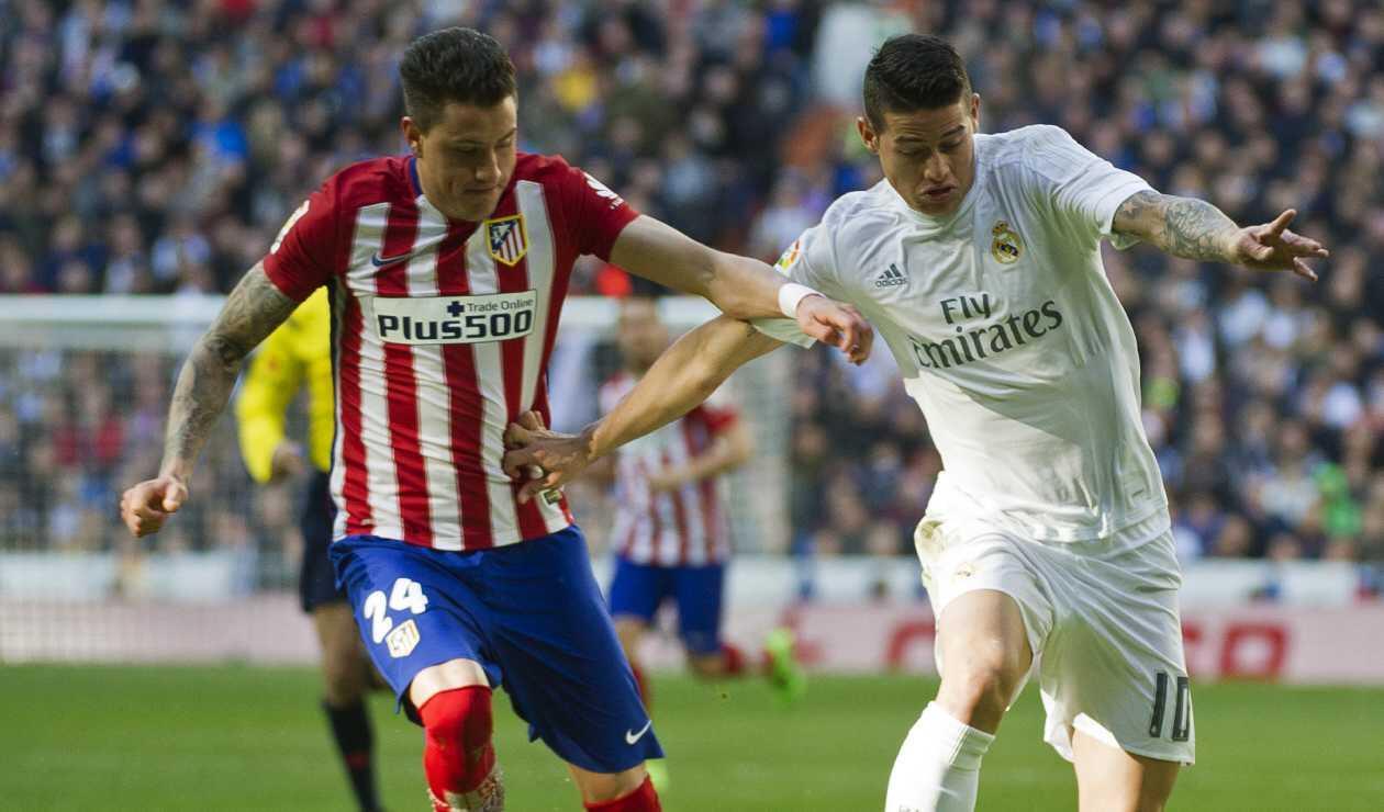 James Rodríguez vs Atlético de Madrid