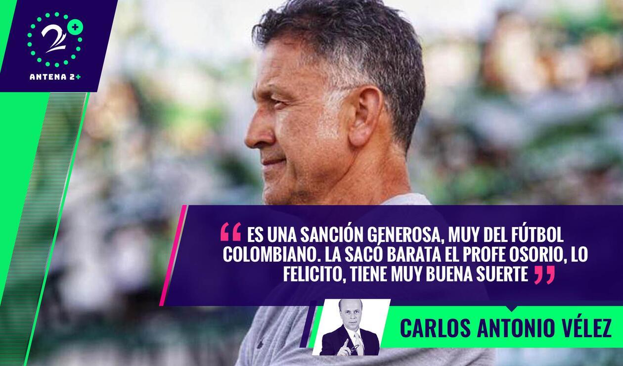 Juan Carlos Osorio, técnico de Nacional - Palabras Mayores