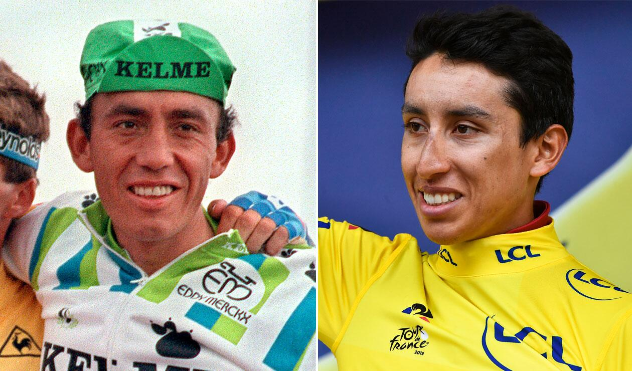 Fabio Parra, Egan Bernal, Tour de Francia 2019