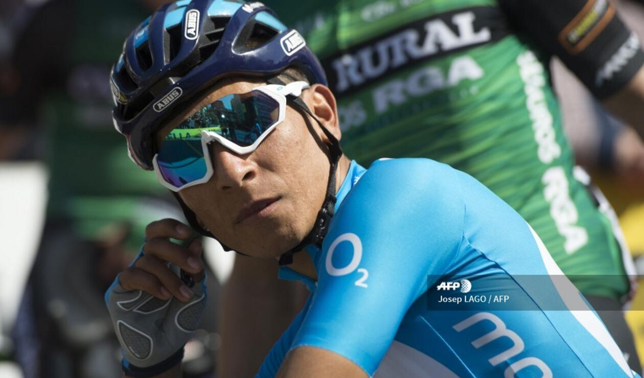 gancho Absoluto Oficiales  Vuelta a España: Nairo Quintana, afectado por estrategia del Movistar |  Antena 2