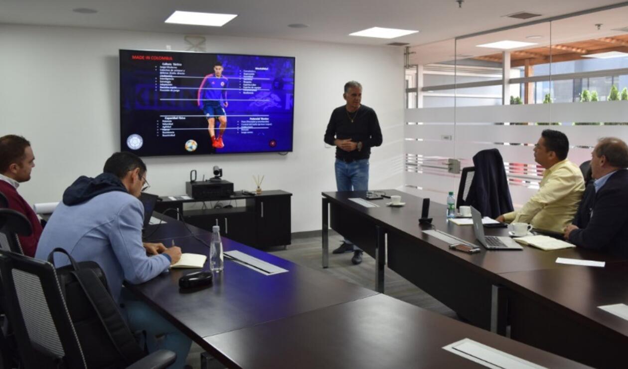 Reunión técnicos Colombia