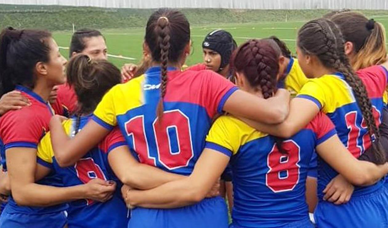 Selección Colombia Rugby Femenino