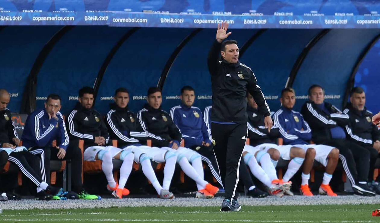 Lionel Scaloni, técnico de Argentina