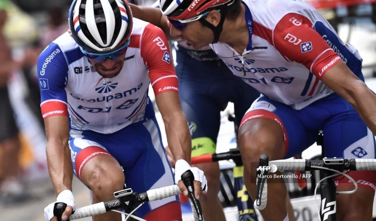 El pedalista galo tuvo queabandonar la competenciaa dos días de la llegada a París