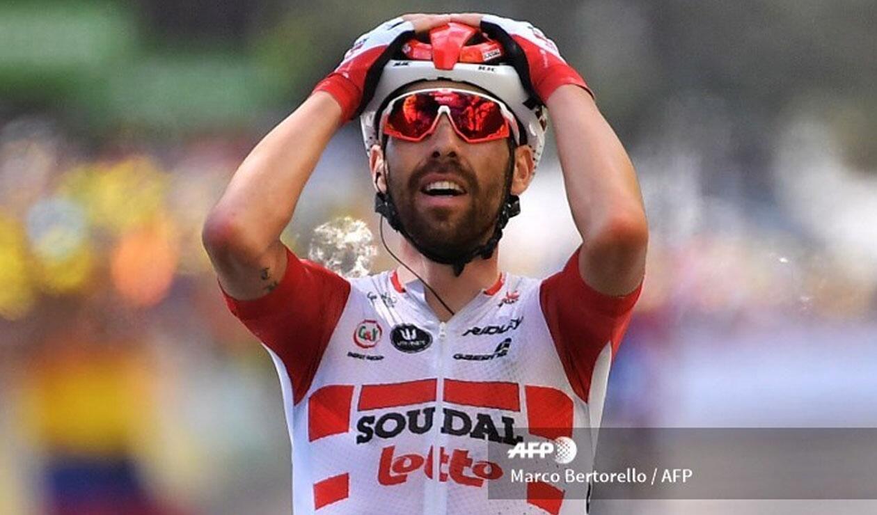 De Gendt se llevó la octava etapa del Tour de Francia
