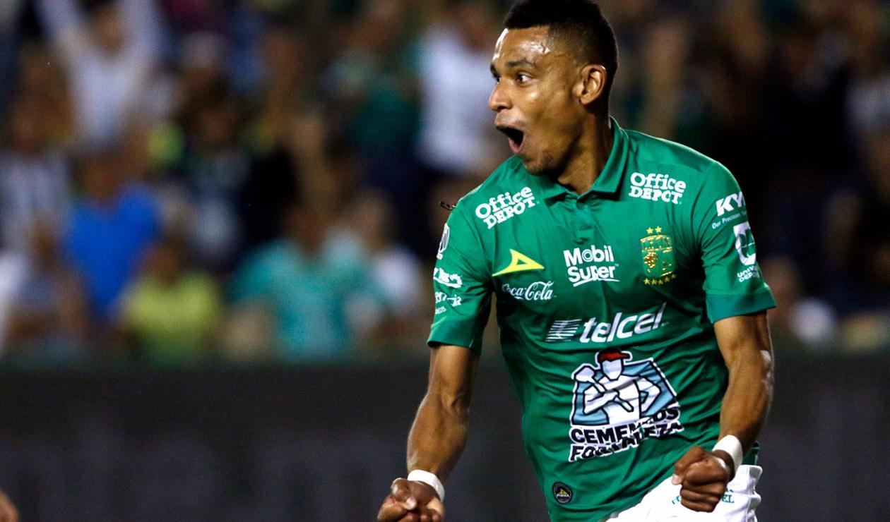 William Tesillo, futbolista colombiano al servicio de León, de México
