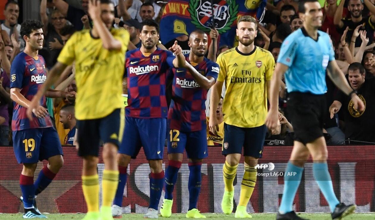 Barcelona Vs Arsenal, Joan Gamper