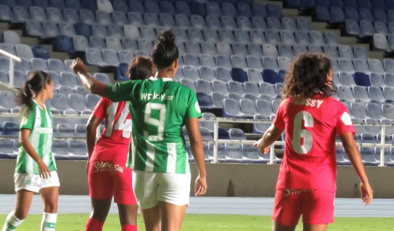 Atlético Nacional, America, Liga Femenina