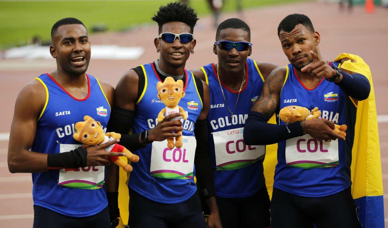 Equipo de atletismo colombianos