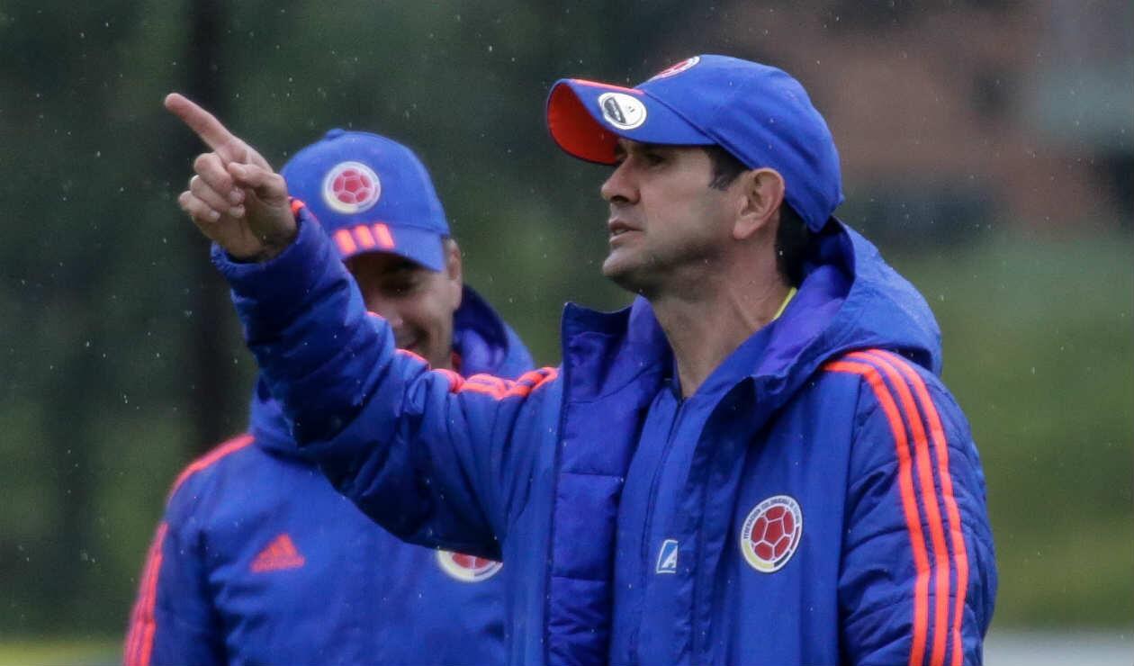 Arturo Reyes, técnico de la Selección Colombia sub 23