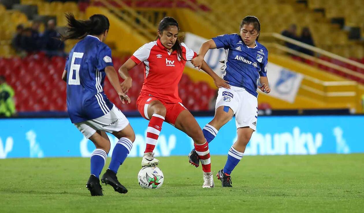Millonarios Vs Santa Fe | Liga Águila Femenina