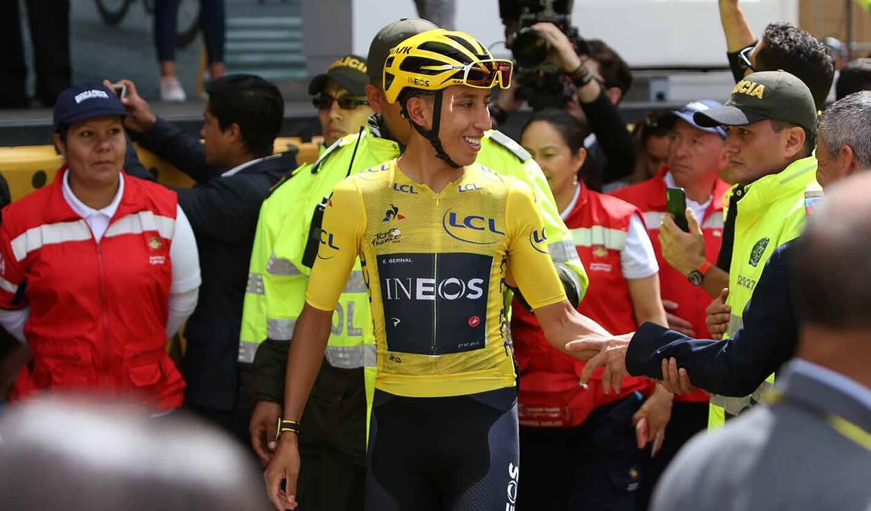 Tour de Francia - Egan Bernal, Recibimiento 3