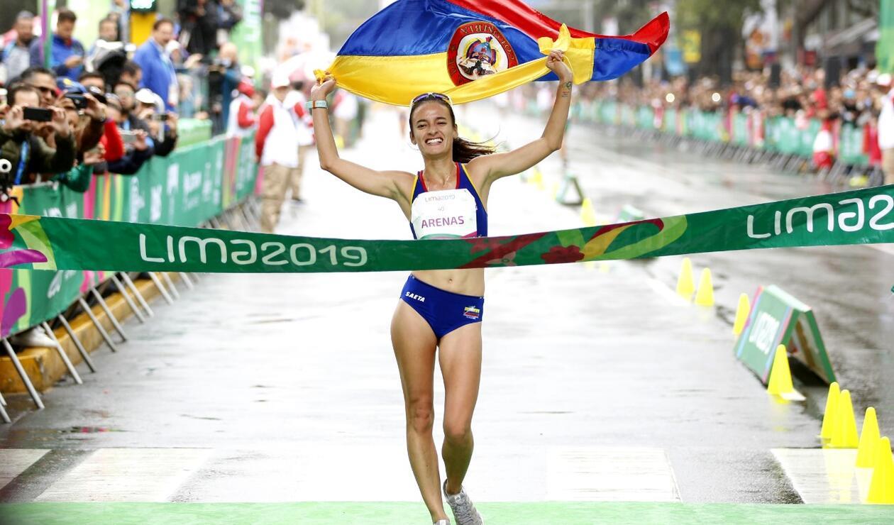 Sandra Lorena Arenas, atleta colombiana